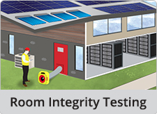 Room Integrity Testing